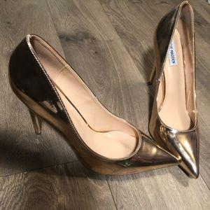 Rose Gold Steve Madden Stiletto Heels